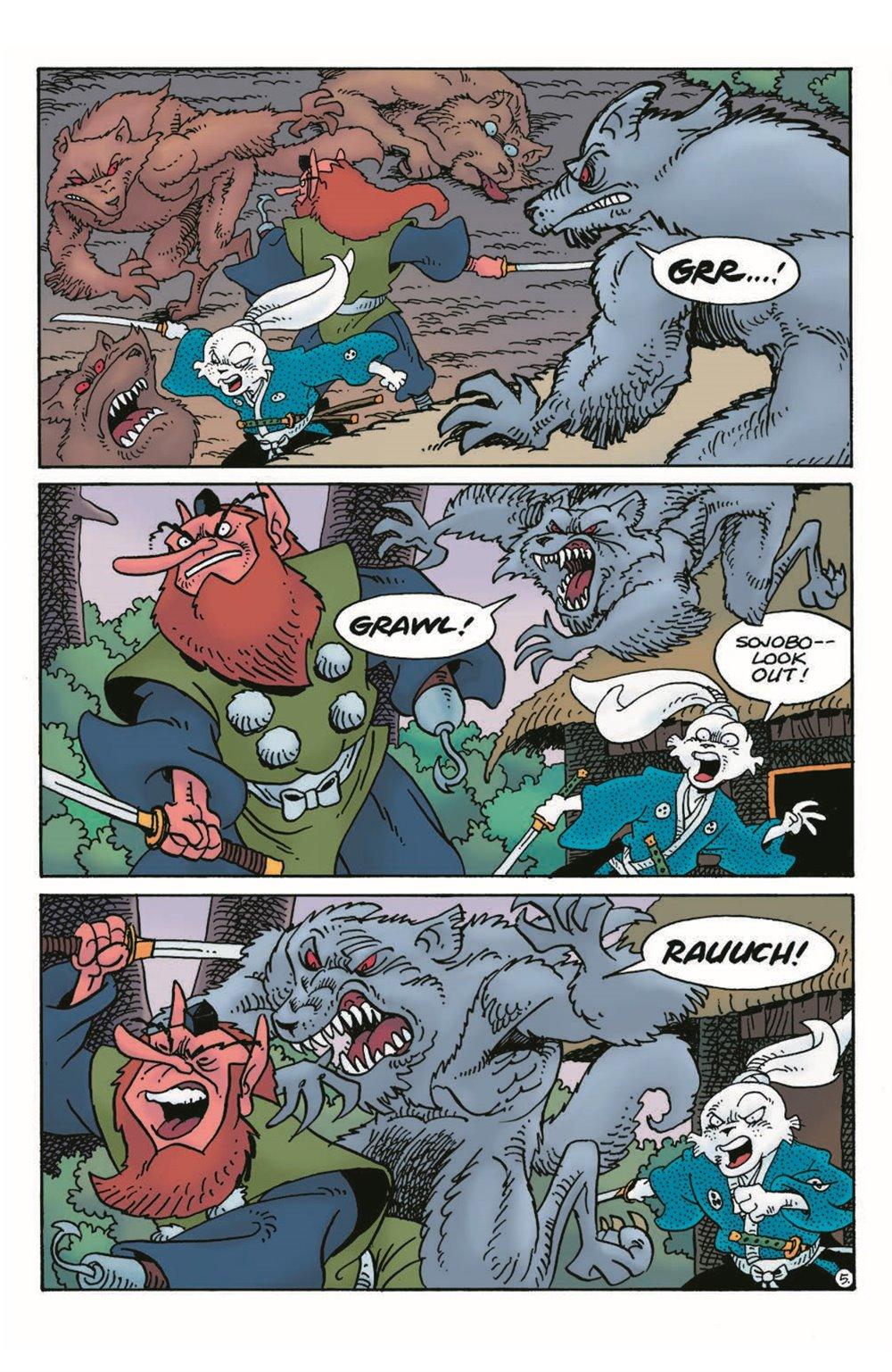 Usagi17_pr-7 ComicList Previews: USAGI YOJIMBO #17