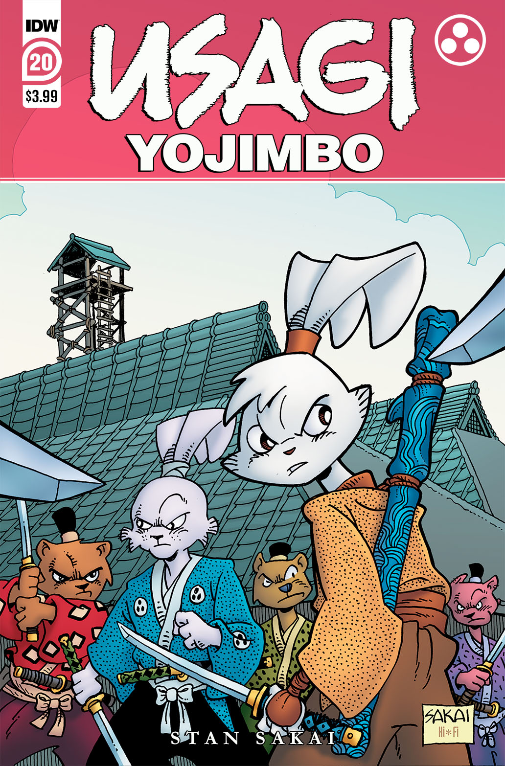 Usagi20_cvrA-copy IDW Publishing June 2021 Solicitations