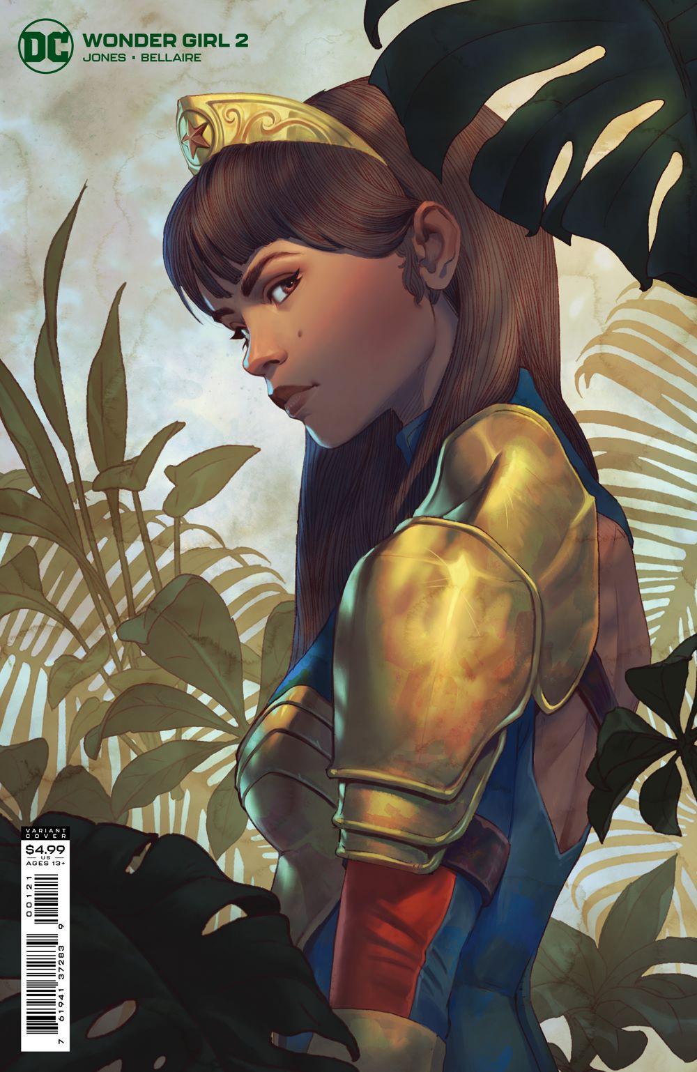 WONDERGIRL_Cv2_var DC Comics June 2021 Solicitations