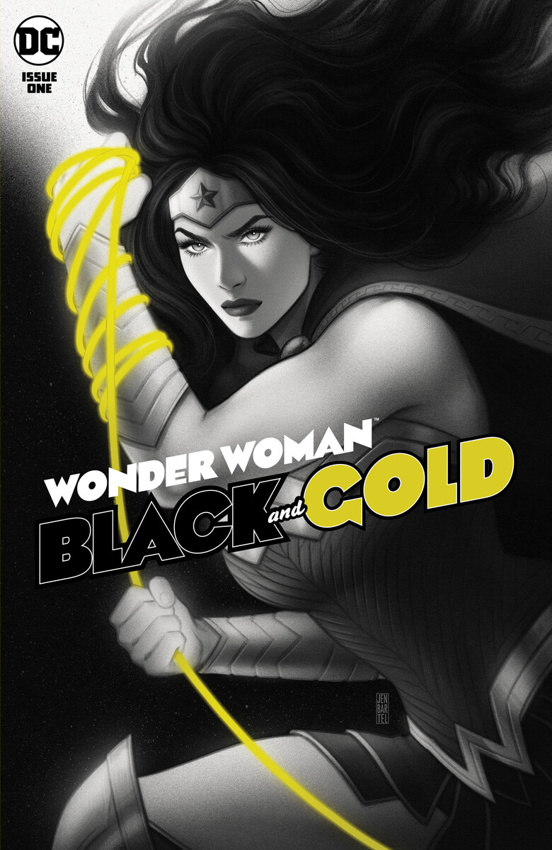 WW_BandG_Cv1_604b858529e4c9.16189120 WONDER WOMAN BLACK AND GOLD to feature a variety of covers