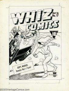 Whiz-Comics-17-cover-art-by-CC-Beck-227x300 7 Deadly Enemies of Man: Hoarding Responsibly