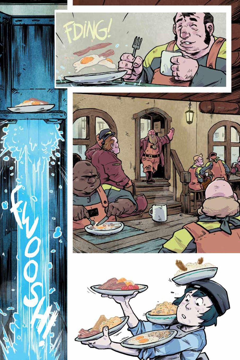 Wynd_v1_HC_PRESS_24 ComicList Previews: WYND VOLUME 1 THE FLIGHT OF THE PRINCE HC (COMIC BOOK SHOP EXCLUSIVE HARDCOVER EDITION)