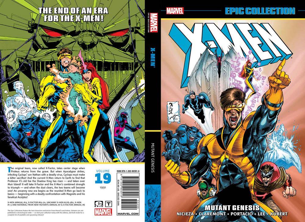 XMENEPICV19TPB_cvr1_4_T Marvel Comics June 2021 Solicitations