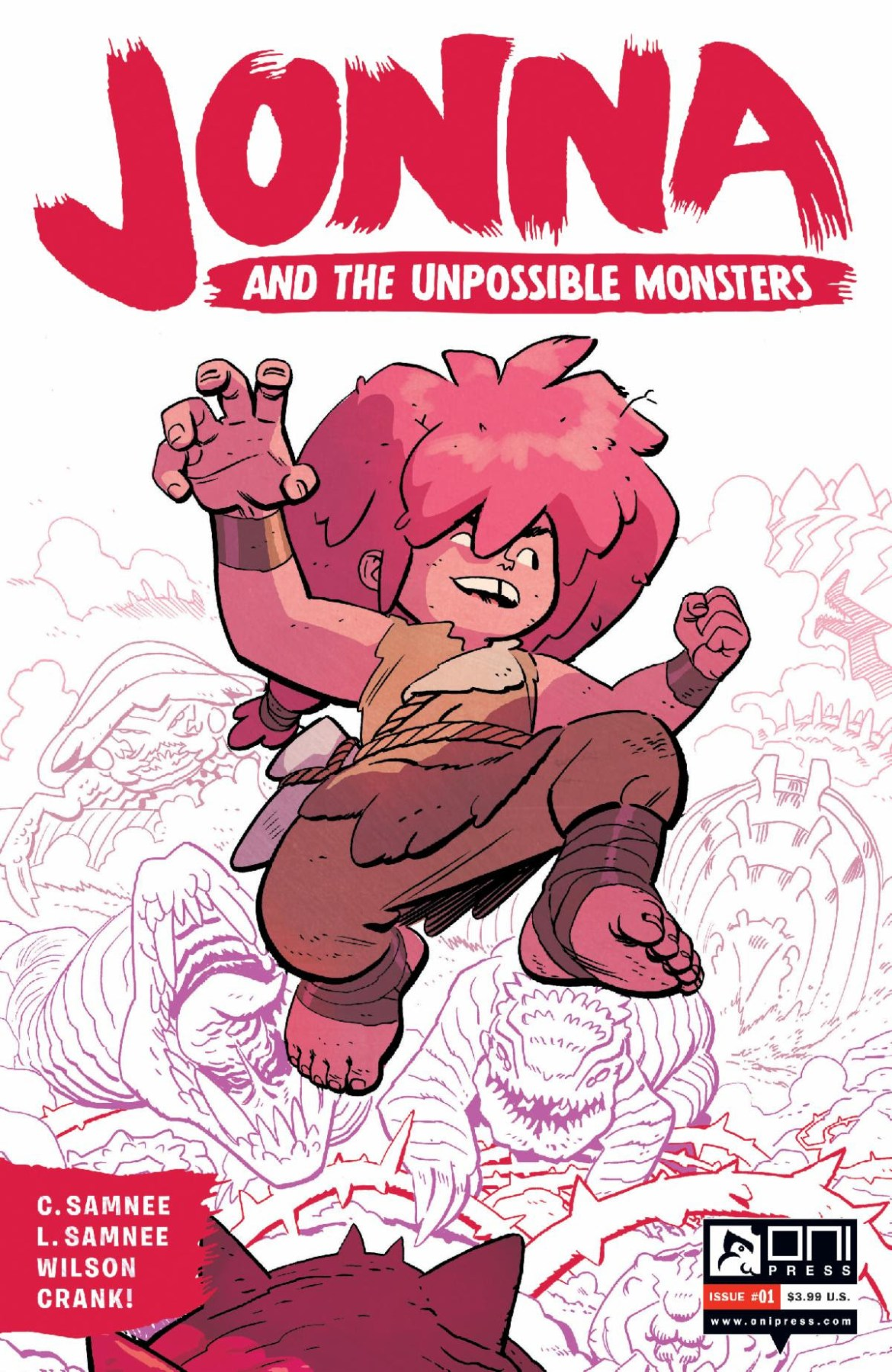 jonna_2nd JONNA AND THE UNPOSSIBLE MONSTERS #1 returns with 2nd printing