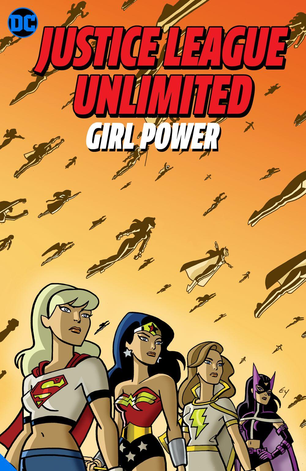 justiceunlimitedgirlpower_adv DC Comics June 2021 Solicitations