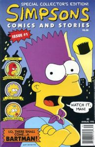 simpsons_comics_and_stories_1-194x300 Turtles, Ducks, and Batman: Comic Trends and Oddballs 3/13