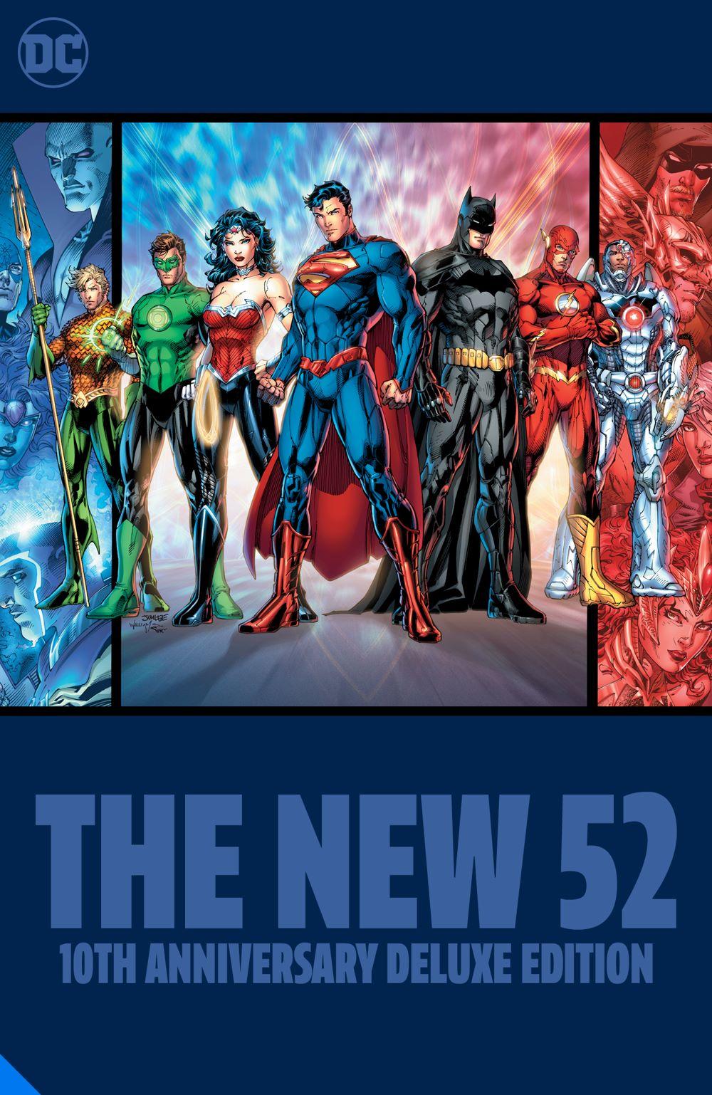 thenew52-10thanniv-dlx_adv DC Comics June 2021 Solicitations