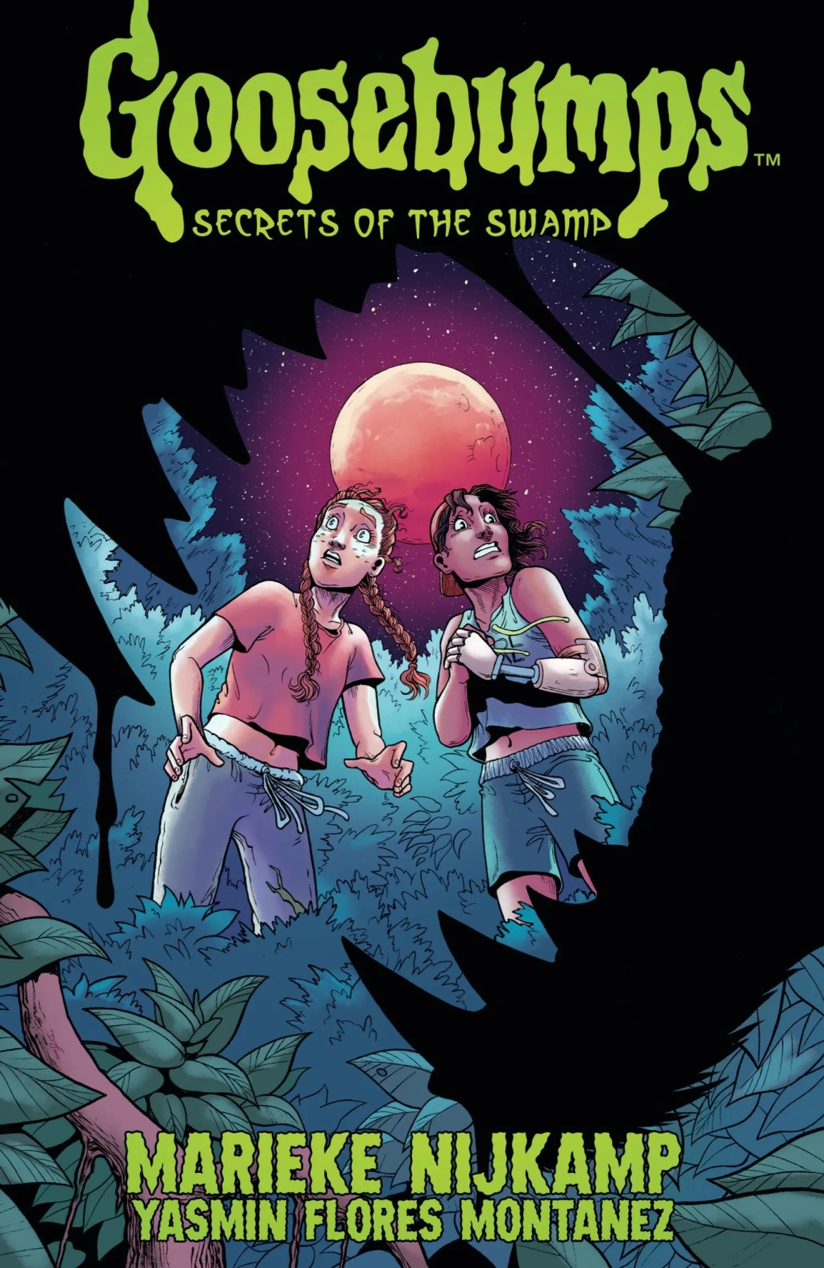 35390404-7cef-4f1f-823c-c6cbe923f70f GOOSEBUMPS SECRET OF THE SWAMP gets collected by IDW