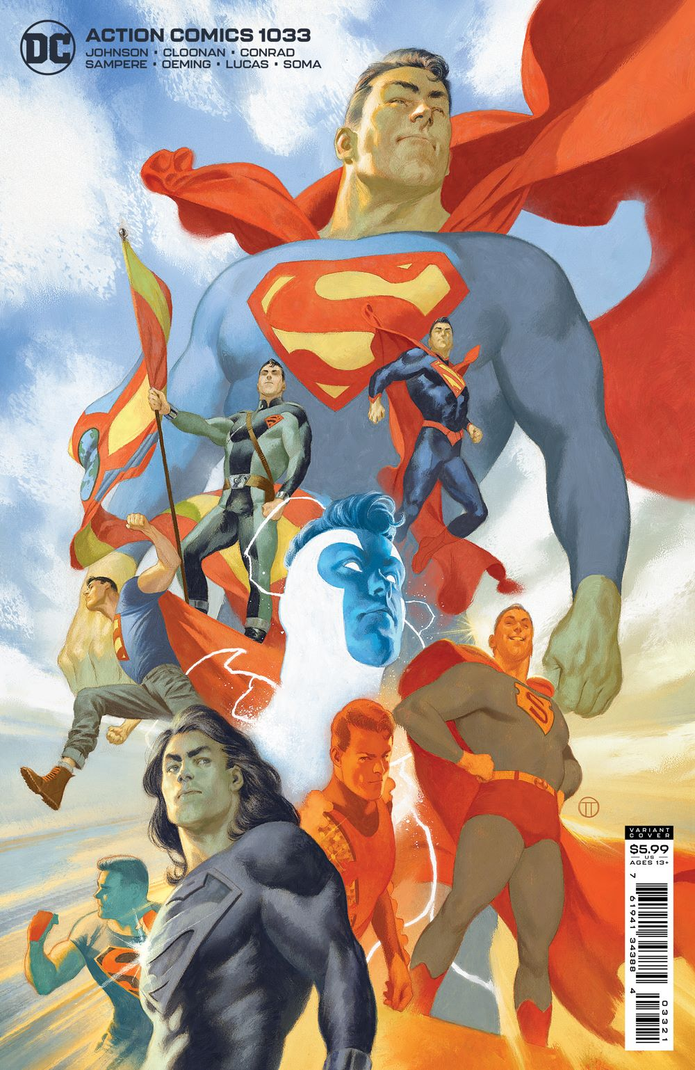 ACTIONCOMICS_Cv1033_var DC Comics July 2021 Solicitations