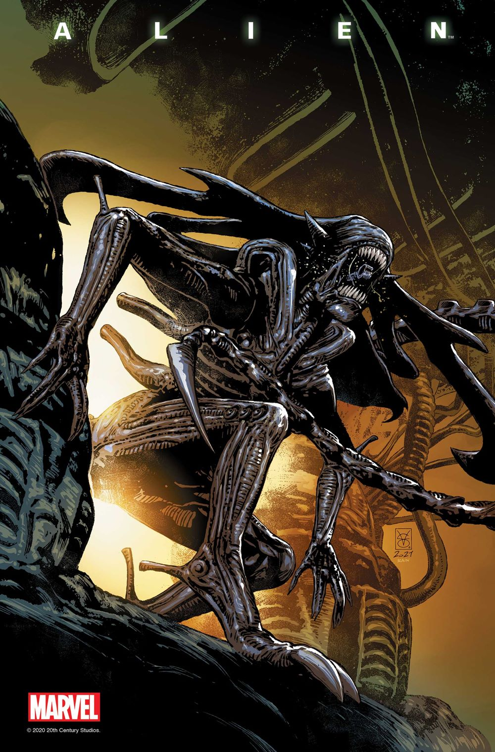 ALIEN2021005_Giangiordano_Var Marvel Comics July 2021 Solicitations