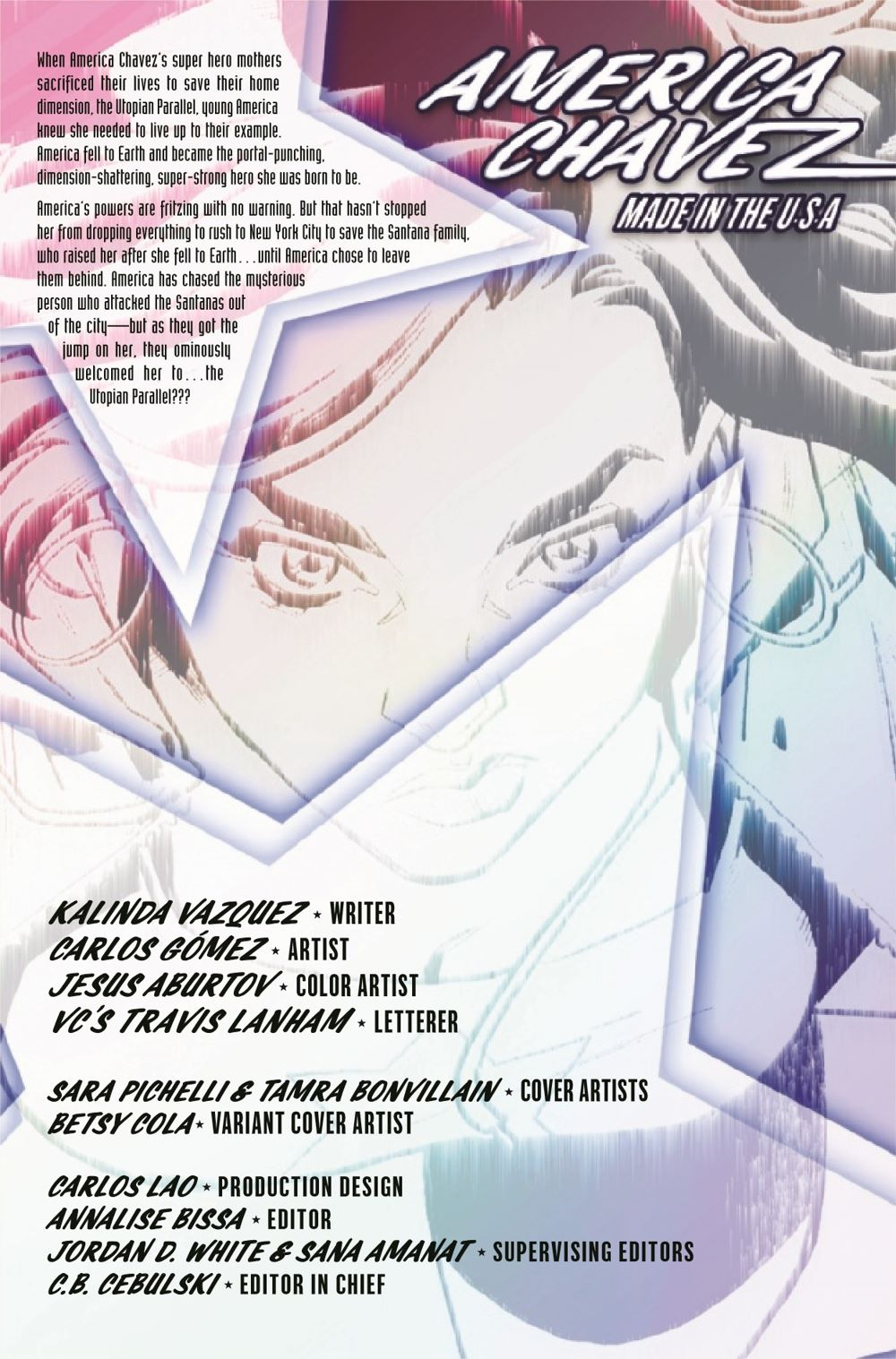 AMERCHAVEZUSA2021003_Preview-2 ComicList Previews: AMERICA CHAVEZ MADE IN THE U.S.A. #3 (OF 5)