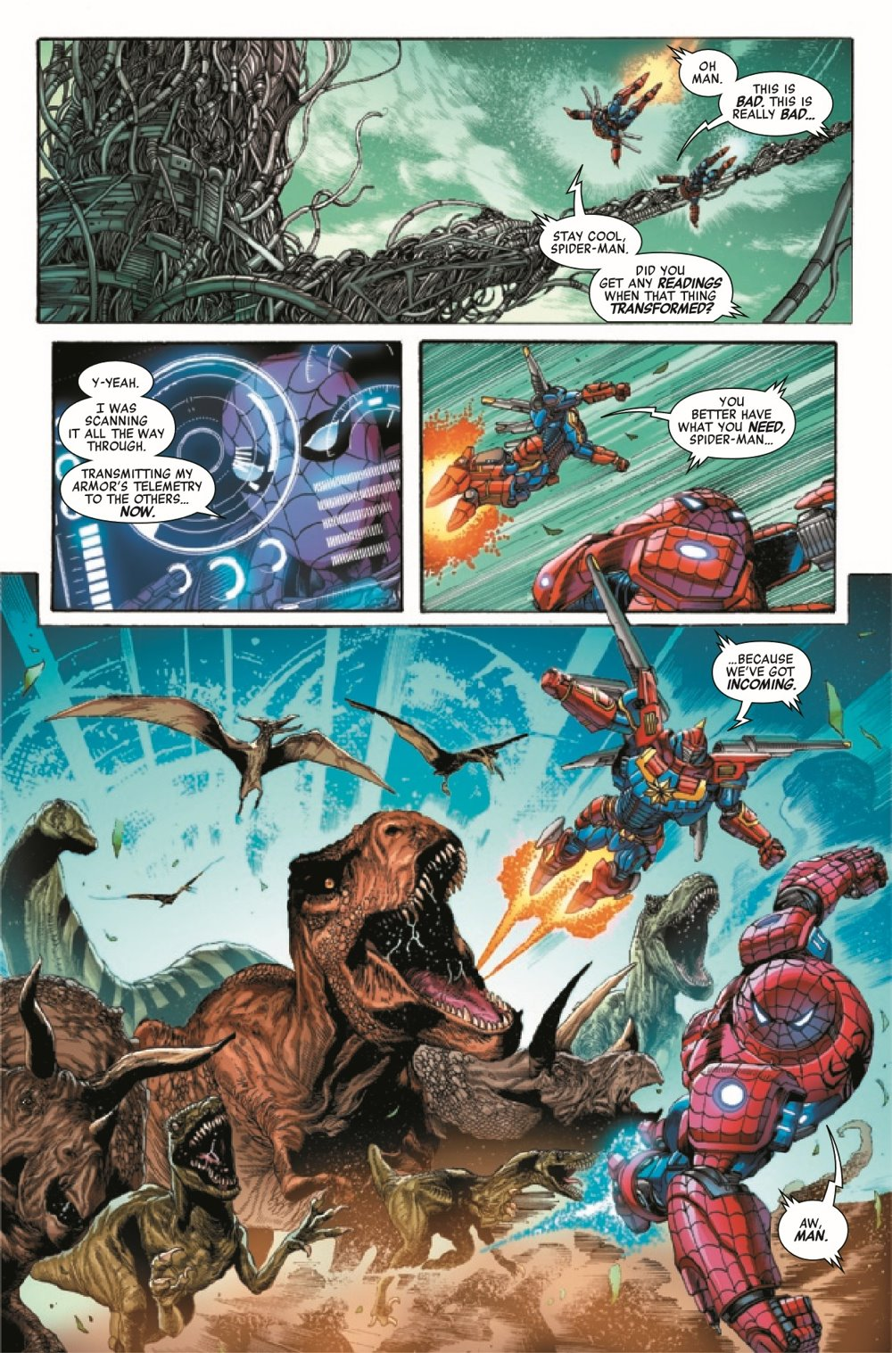 AVENMECHST2021003_Preview-6 ComicList Previews: AVENGERS MECH STRIKE #3 (OF 5)