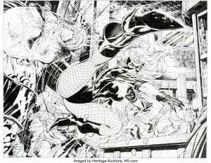 All-Star-Batman-and-Robin-featuring-Black-Canary-300x233 Jim Lee's Hand Doing Well: What Should He Draw?