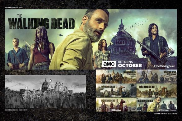 AoTWDU_solicit_covers_and_interiors-4_c6815a0147f8285e3b5042ebb3626151 THE ART OF AMC'S THE WALKING DEAD UNIVERSE arrives this September