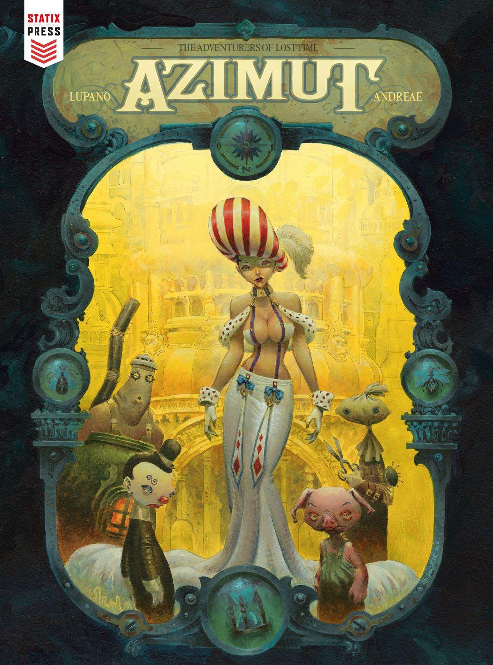 Azimut-Cover Titan Comics July 2021 Solicitations