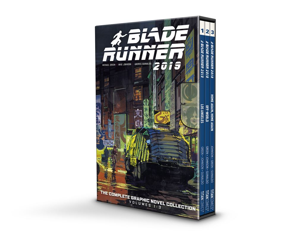BLADE-RUNNER-BOXED-SET Titan Comics July 2021 Solicitations