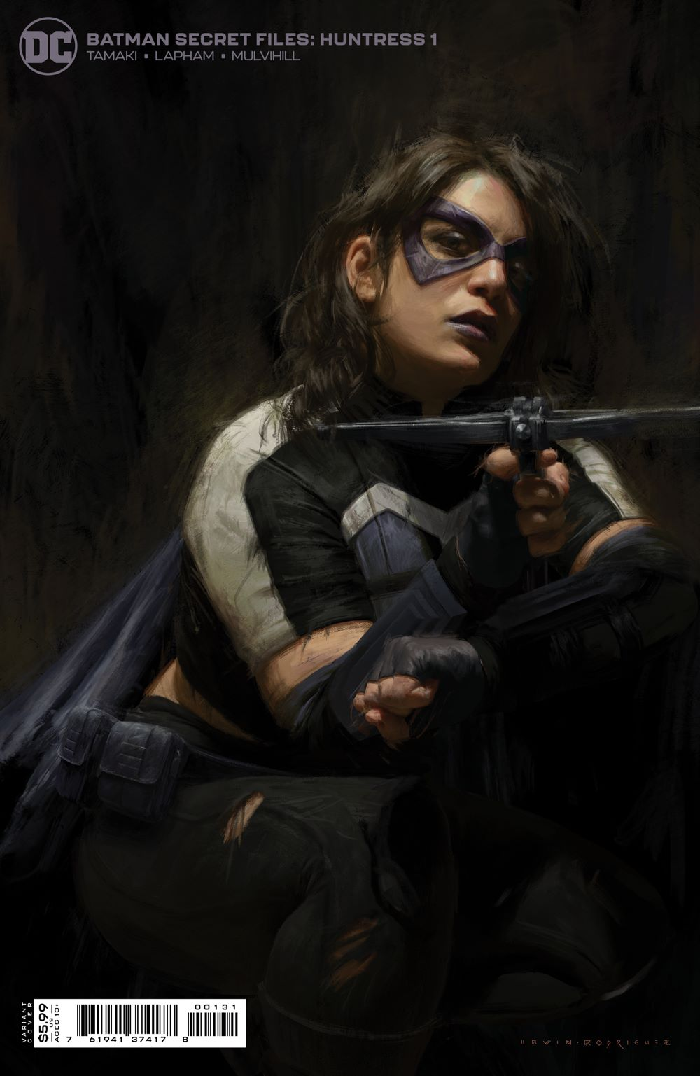 BMSF_HNTRSS_Cv1_1.25var DC Comics July 2021 Solicitations
