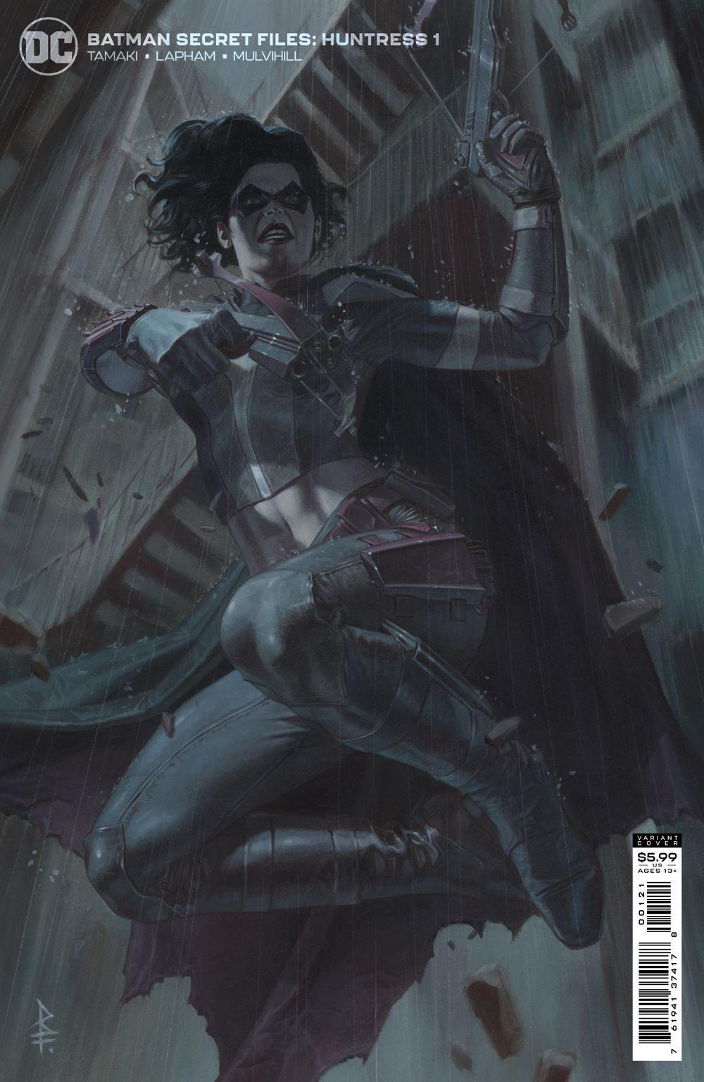BMSF_HNTRSS_Cv1_var DC Comics July 2021 Solicitations