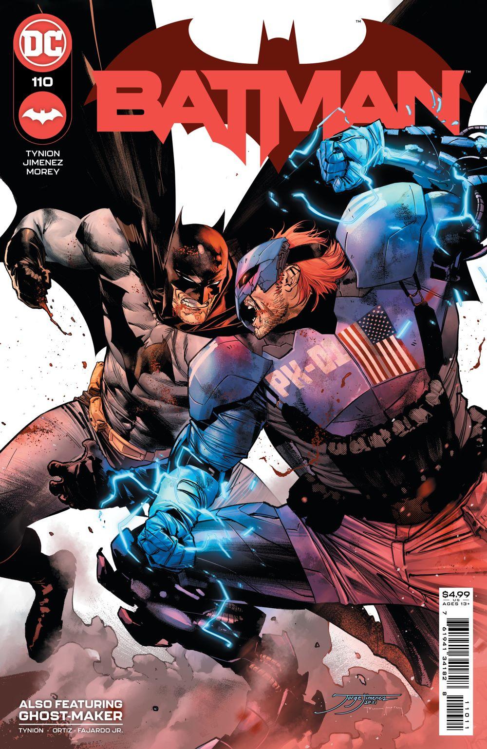 BM_Cv110 DC Comics July 2021 Solicitations