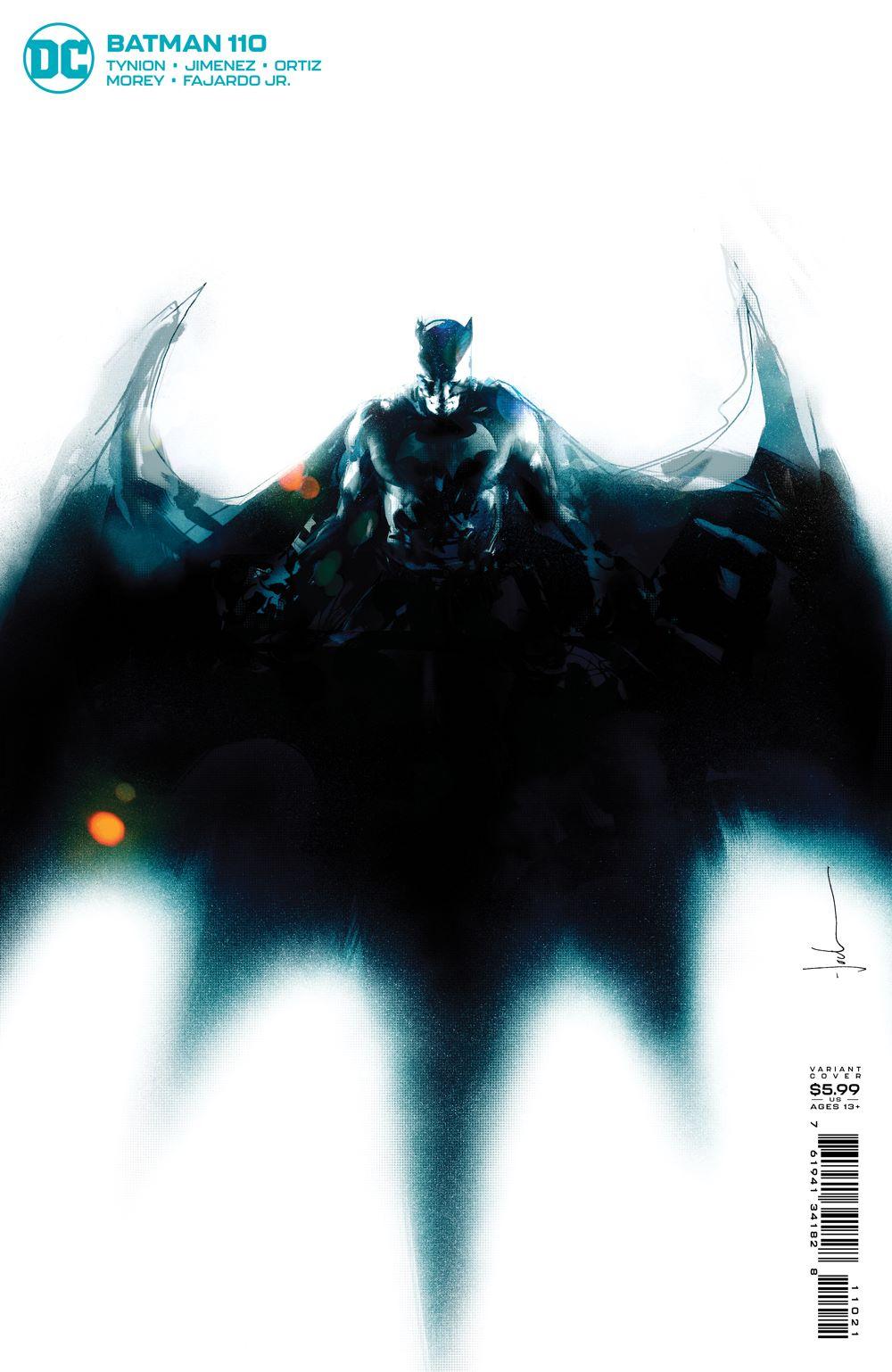 BM_Cv110_var DC Comics July 2021 Solicitations