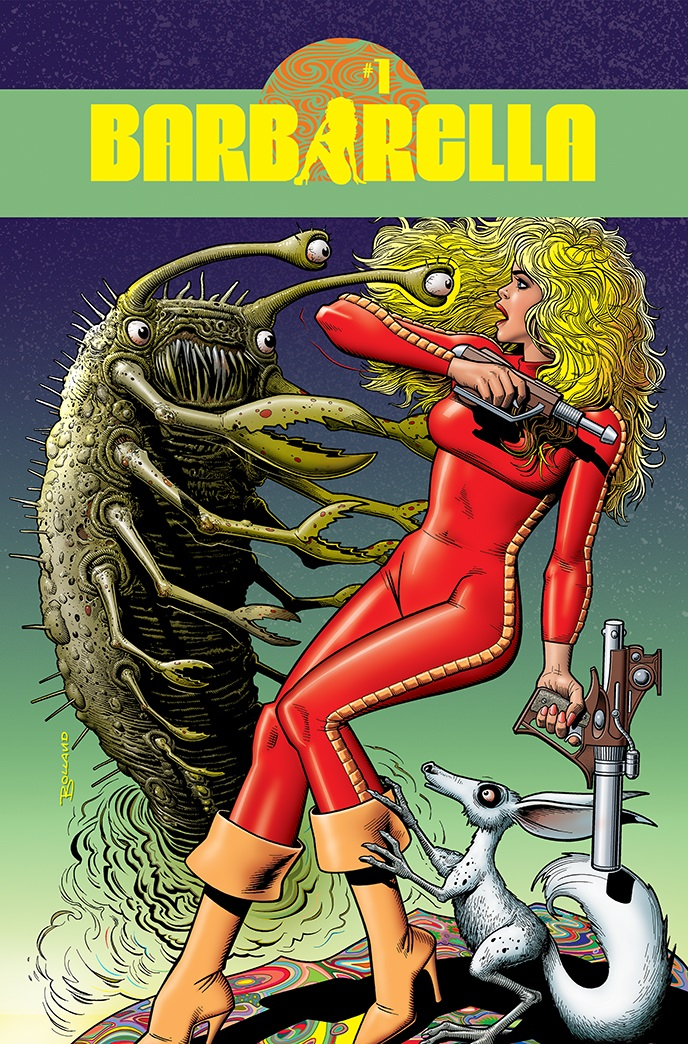 Barbarella-01-01031-C-Bolland Dynamite Entertainment July 2021 Solicitations