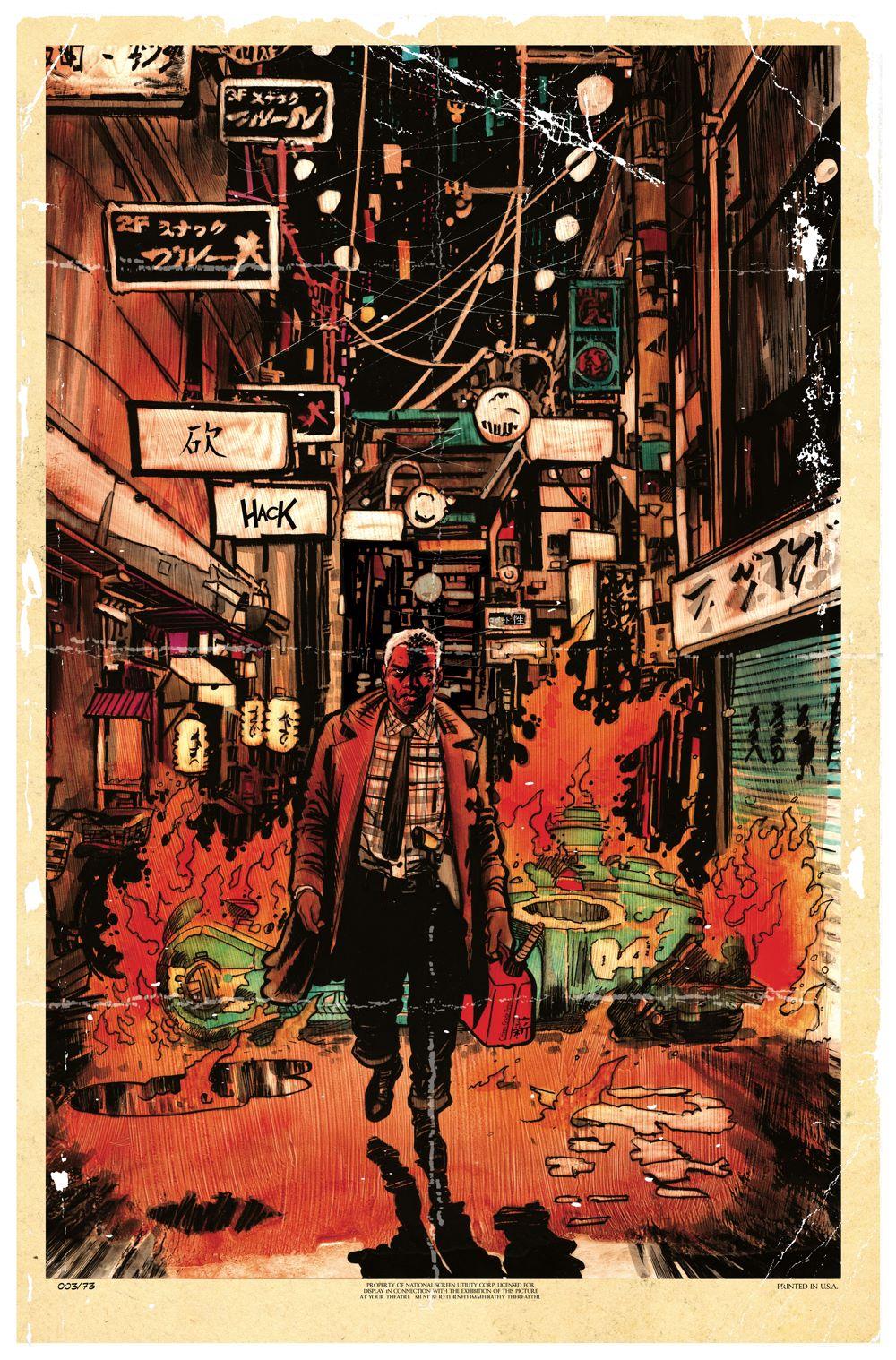 BladeRunnerOriginsHack3 Titan Comics July 2021 Solicitations