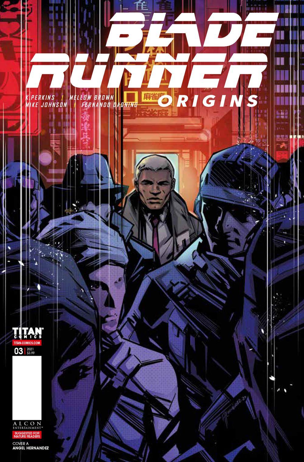 Blade_Runner_Origins_3_COVERS_A-HERNANDEZ ComicList: Titan Comics New Releases for 04/21/2021