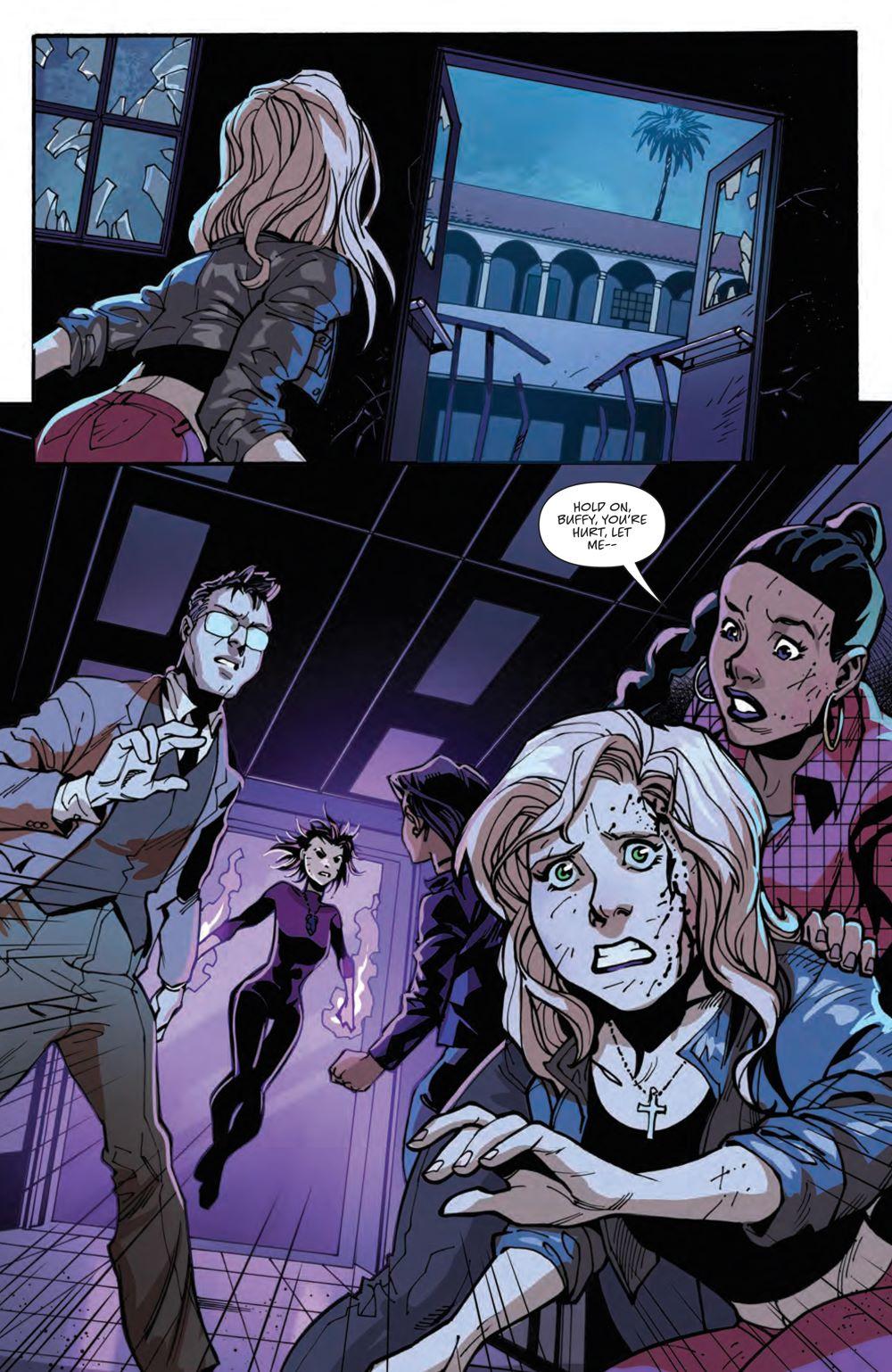 Buffy_024_PRESS_4 ComicList Previews: BUFFY THE VAMPIRE SLAYER #24