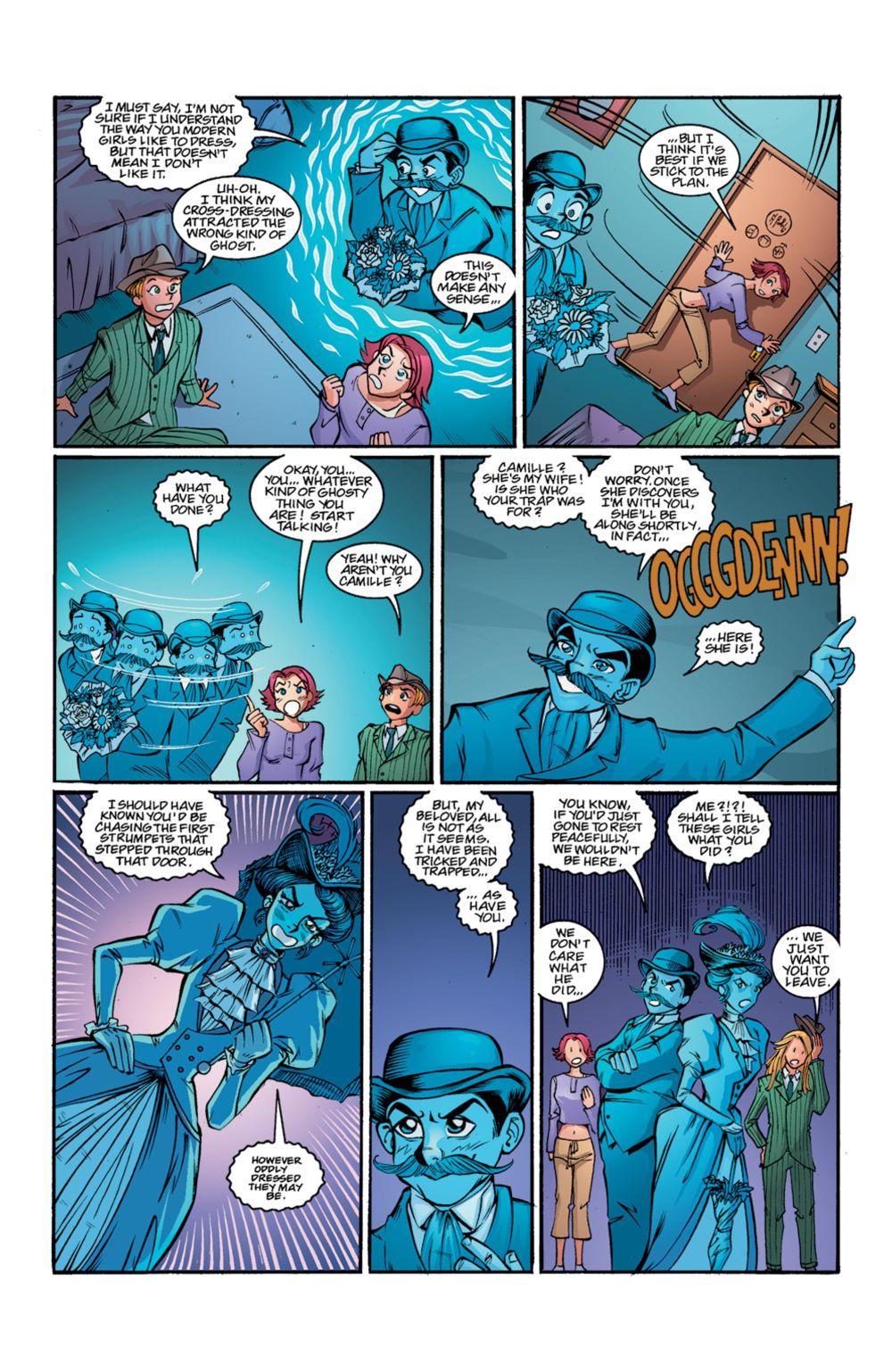 Buffy_Legacy_v4_SC_PRESS_20 ComicList Previews: BUFFY THE VAMPIRE SLAYER LEGACY EDITION VOLUME 4 SC