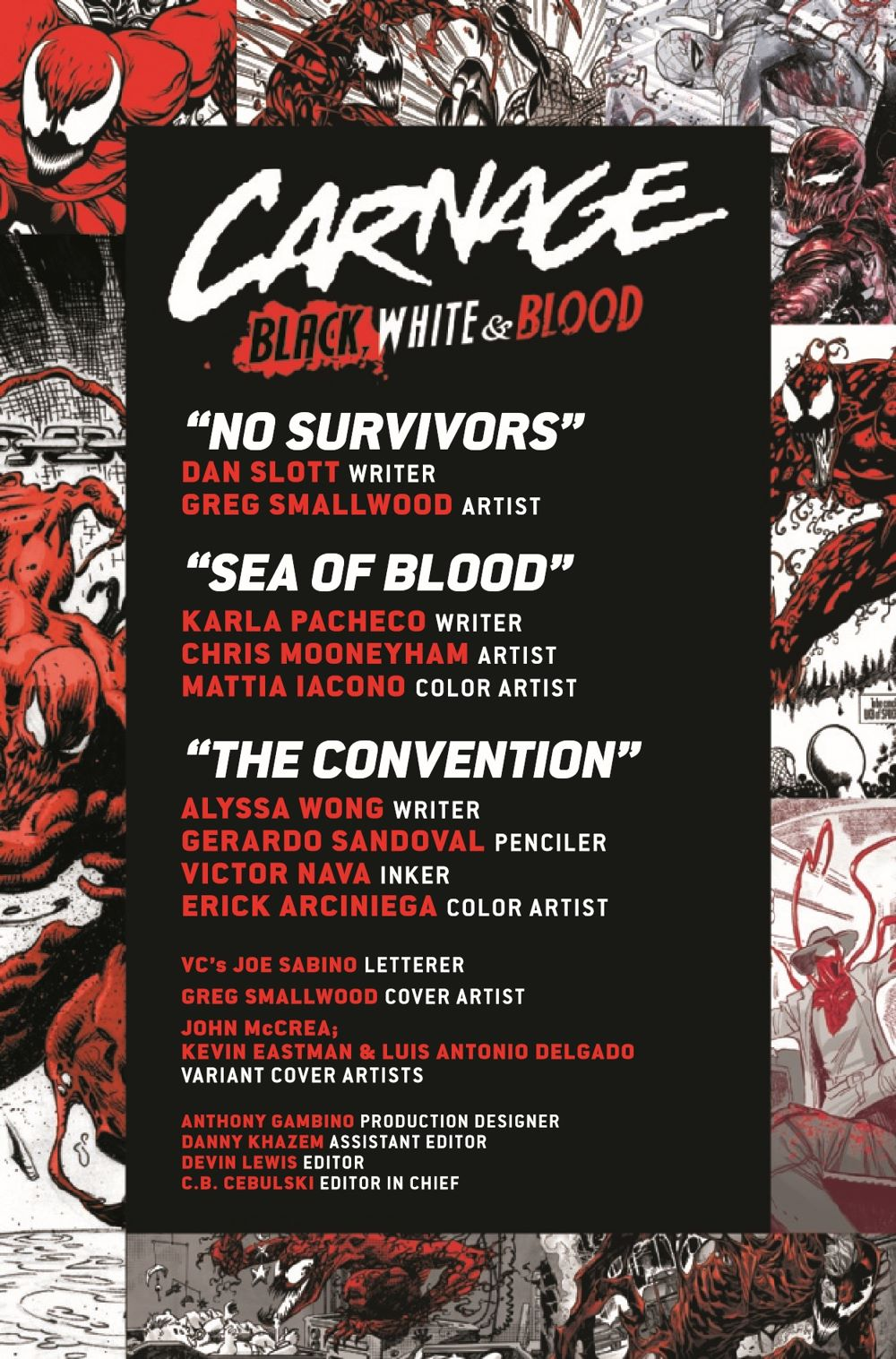 CARNBLKWHBL2021003_Preview-2 ComicList Previews: CARNAGE BLACK WHITE AND BLOOD #3 (OF 4)