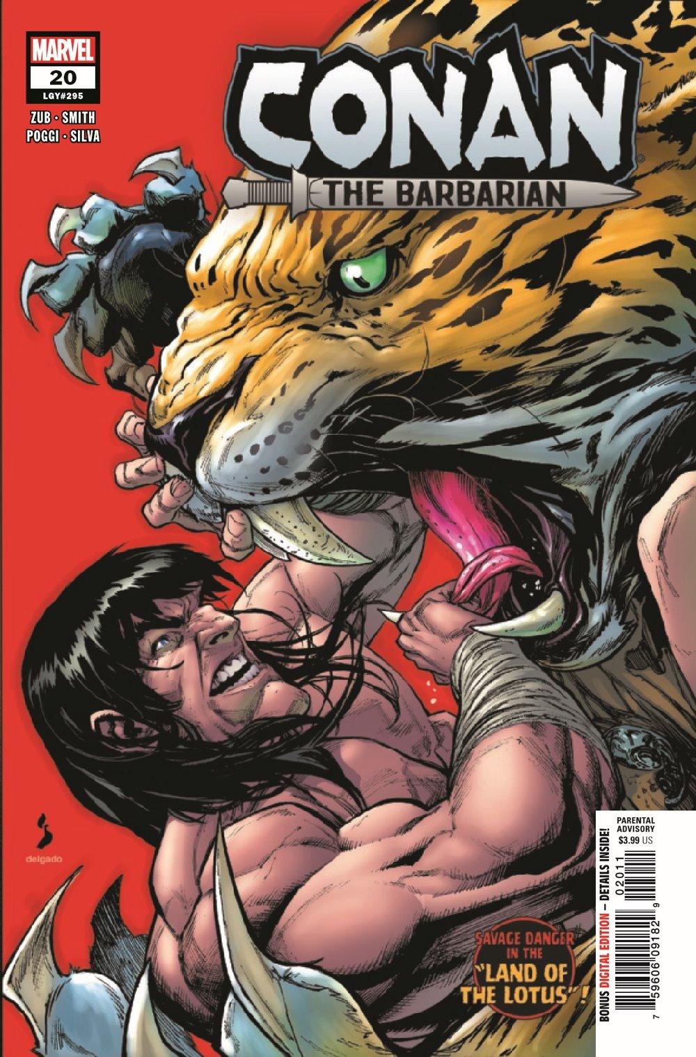 CONANBARB2019020_Preview-1 ComicList Previews: CONAN THE BARBARIAN #20