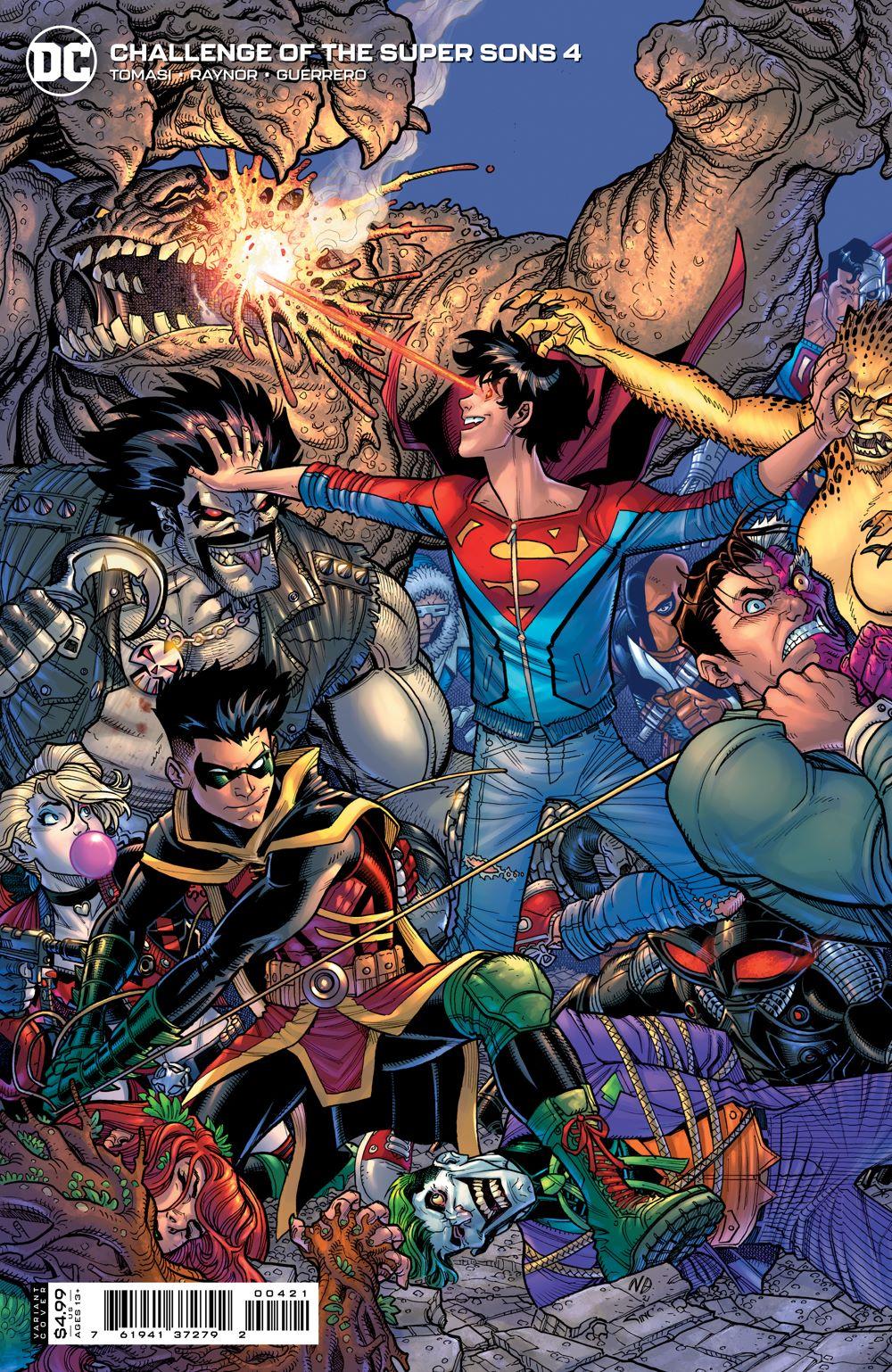 COTSuperSons_Cv4_var DC Comics July 2021 Solicitations