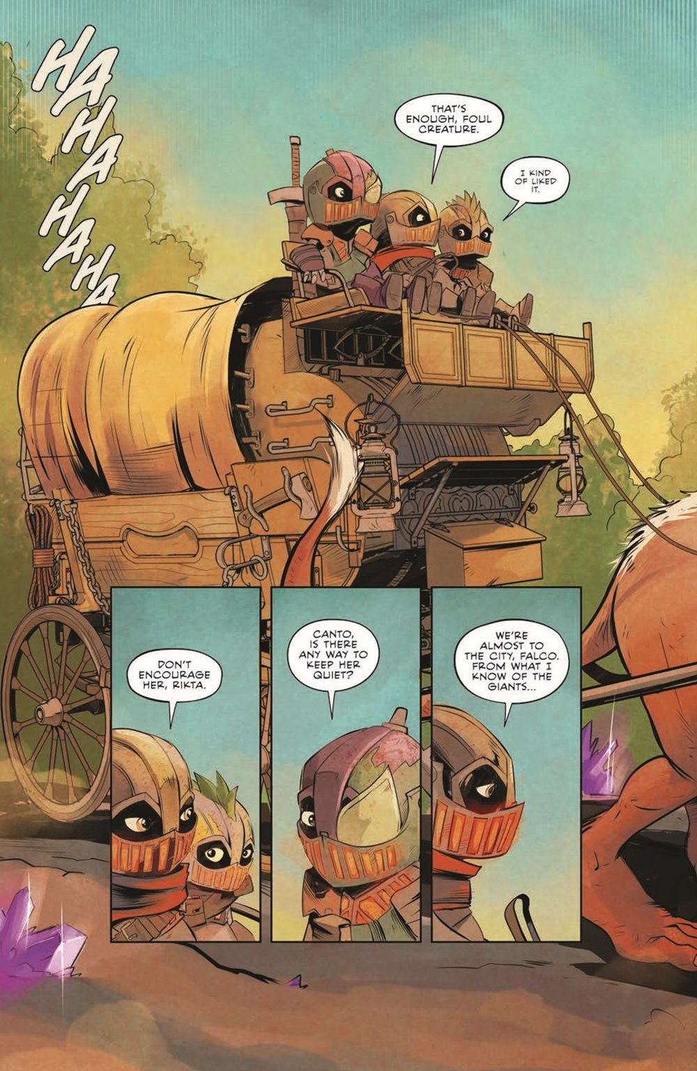 Canto-CoG01_pr-5 ComicList Previews: CANTO AND THE CITY OF GIANTS #1 (OF 3)
