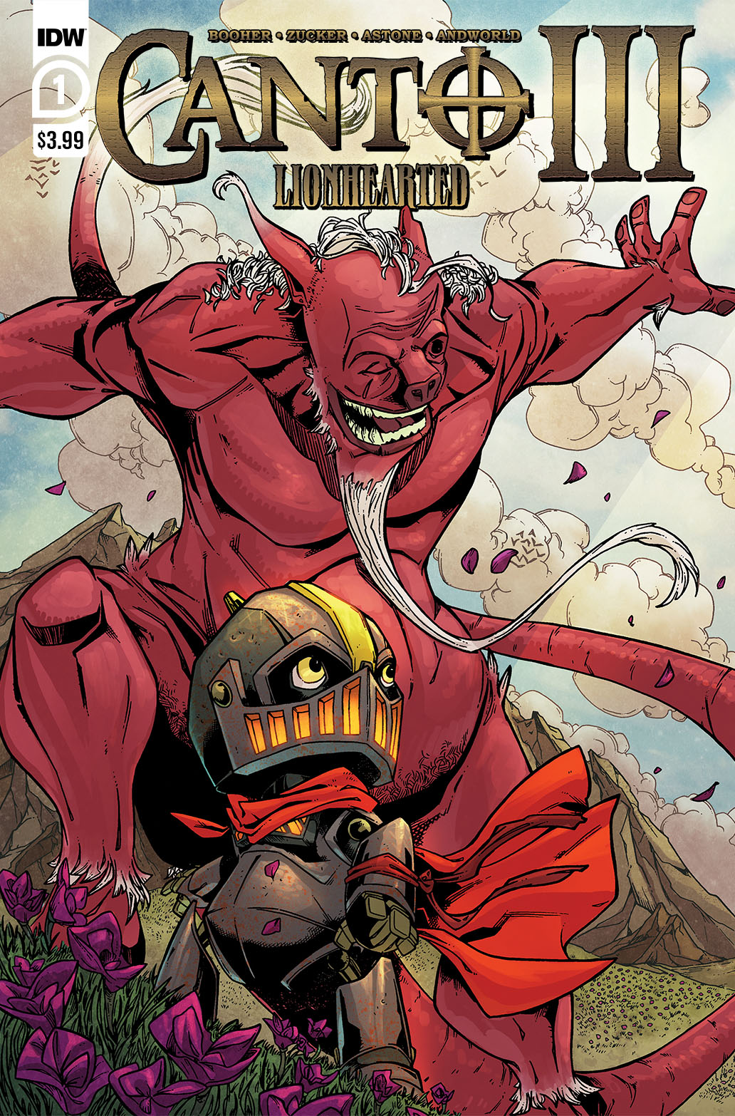 Canto-Lionhearted01_cvrA-copy IDW Publishing July 2021 Solicitations