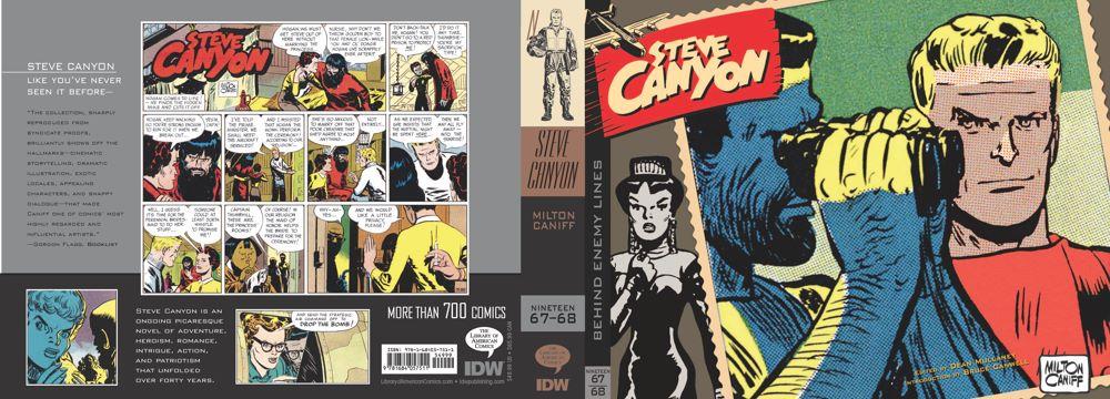 Canyon11_cvr ComicList Previews: STEVE CANYON VOLUME 11 1967-1968 HC