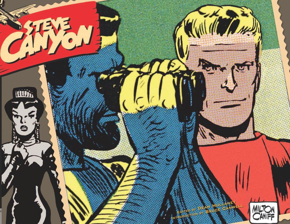 Canyon11_cvrfront ComicList Previews: STEVE CANYON VOLUME 11 1967-1968 HC