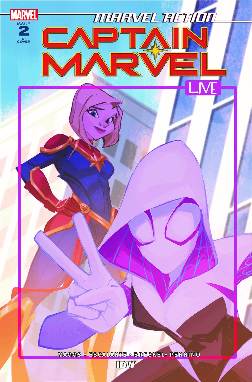 CaptainMarvel_RIcvr_02 ComicList: IDW Publishing New Releases for 04/07/2021