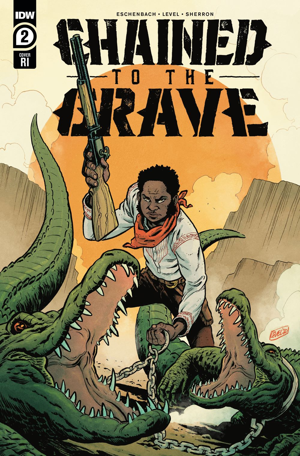 ChainedTTGrave02-coverRI ComicList: IDW Publishing New Releases for 04/14/2021