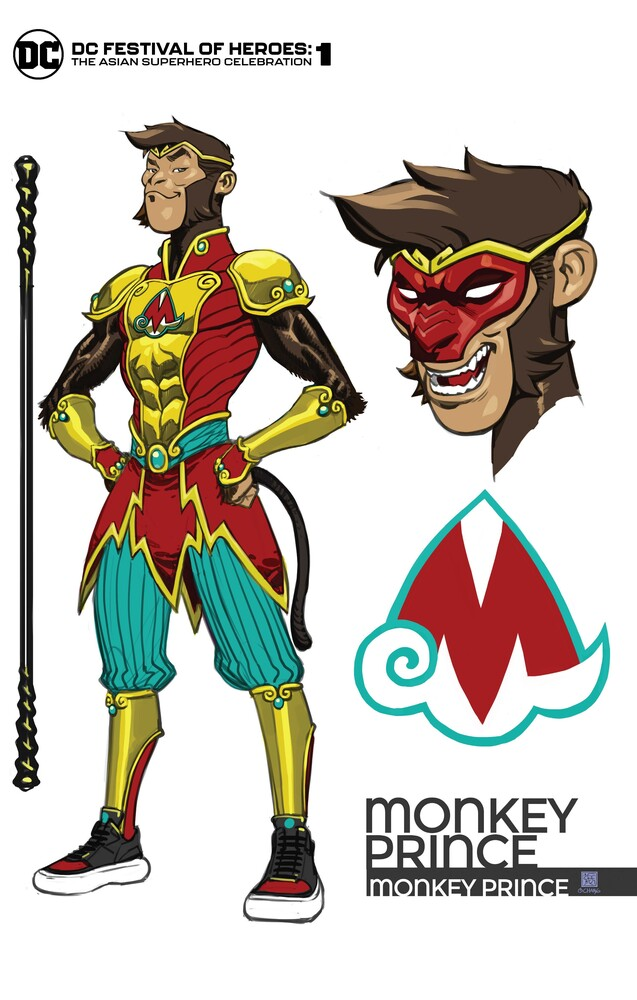 DCFOH_MonkeyPrinceCvr2_60677aa07a79c8.46598908 DC FESTIVAL OF HEROES will introduce the Monkey Prince