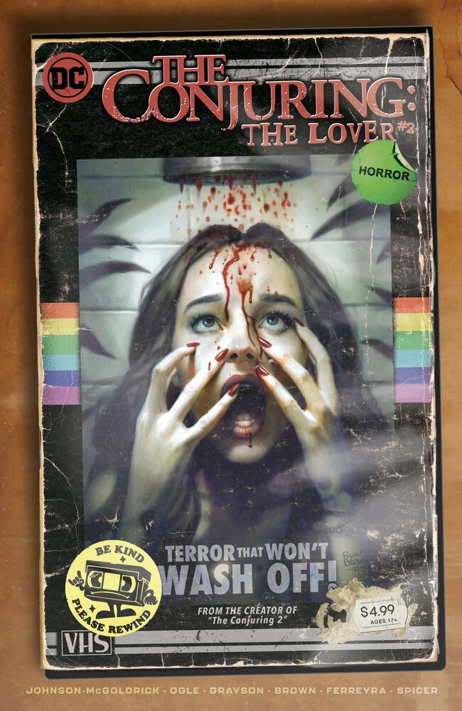 DCH_TCTL_Cv2_VHS_var_6082116e44b378.87835845 DC Horror begins with THE CONJURING: THE LOVER limited series