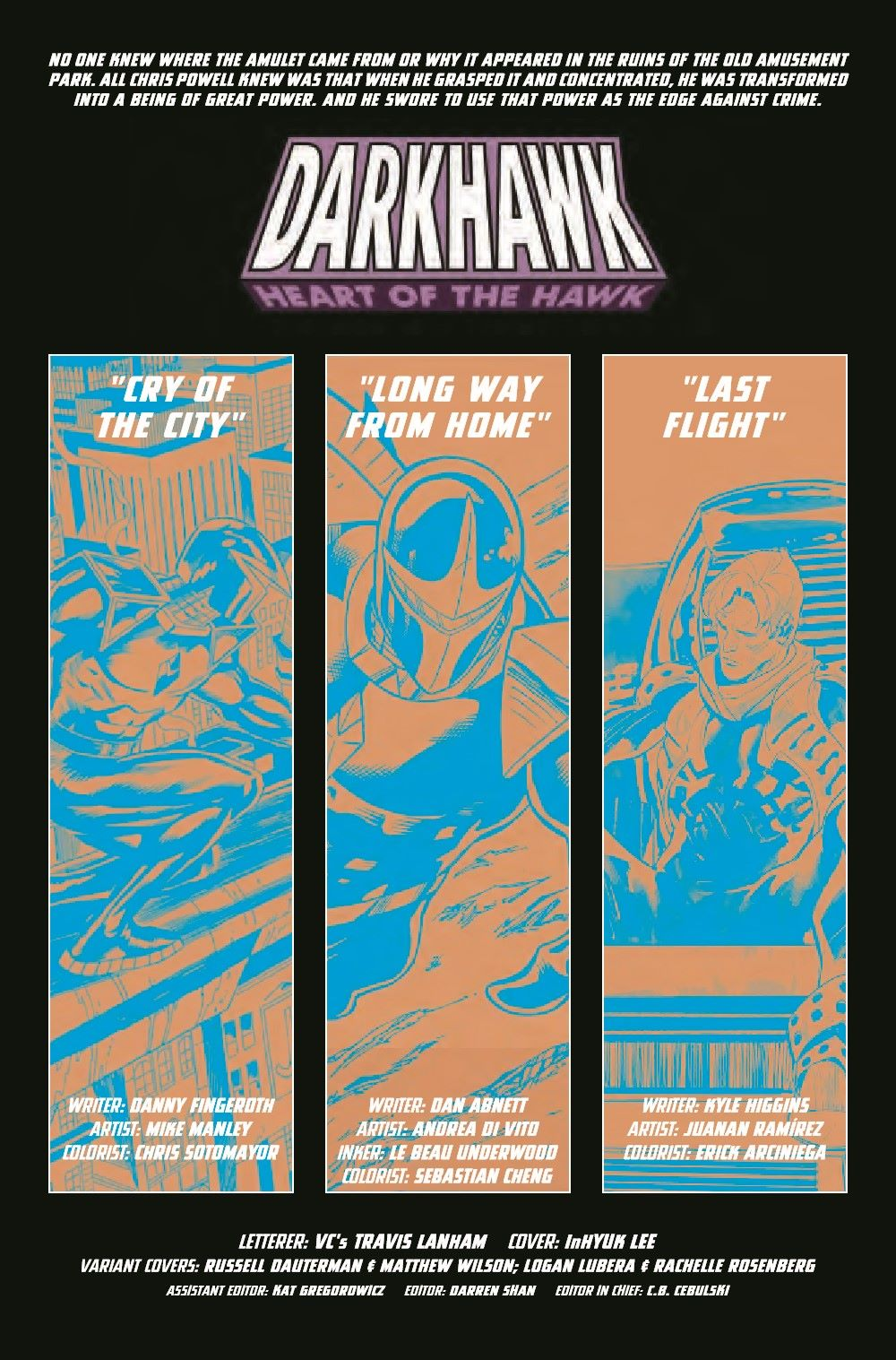 DRKHWKHOH2021001_Preview-2 ComicList Previews: DARKHAWK HEART OF THE HAWK #1