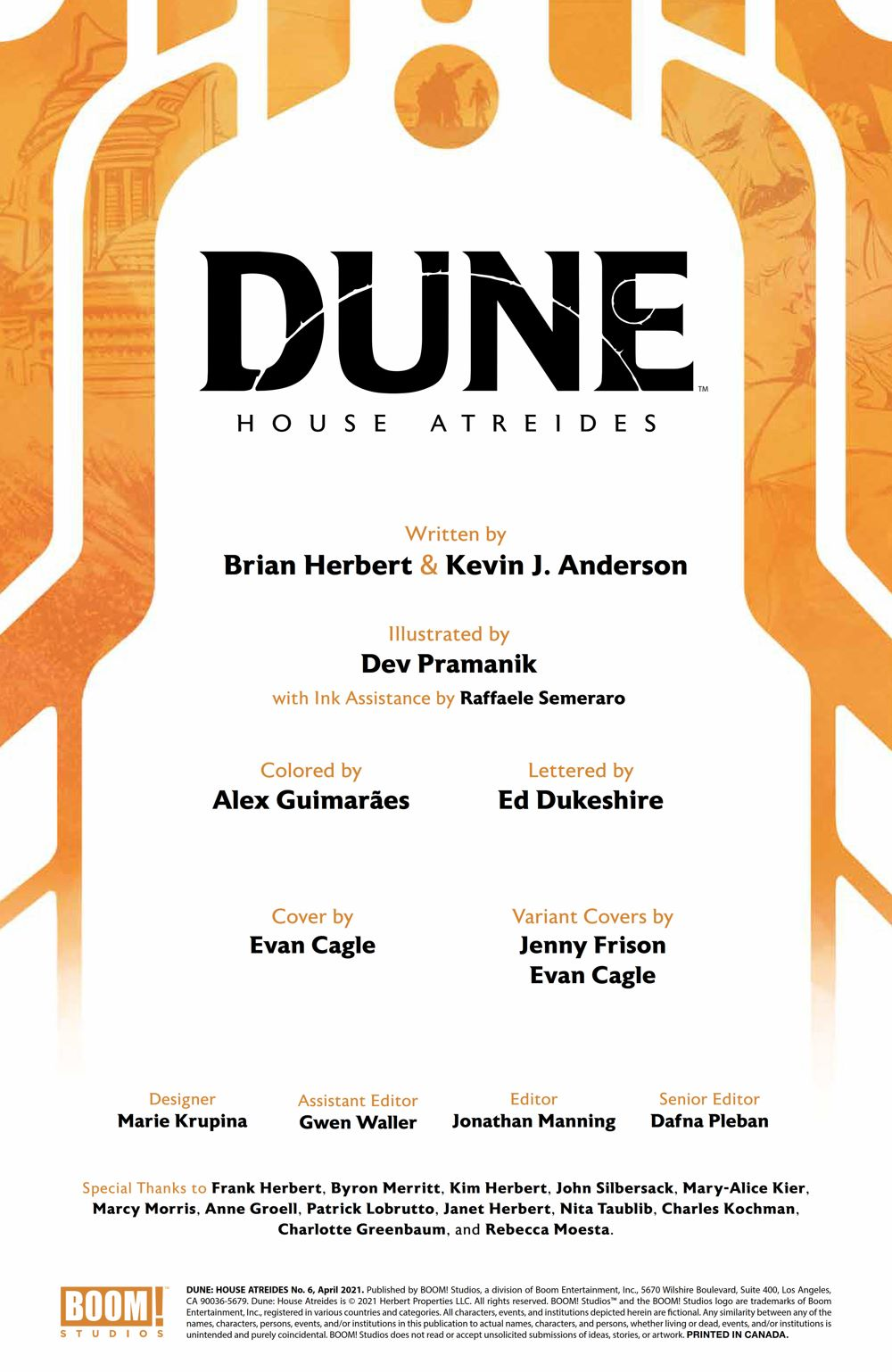 Dune_HouseAtreides_006_PRESS_2 ComicList Previews: DUNE HOUSE ATREIDES #6 (OF 12)