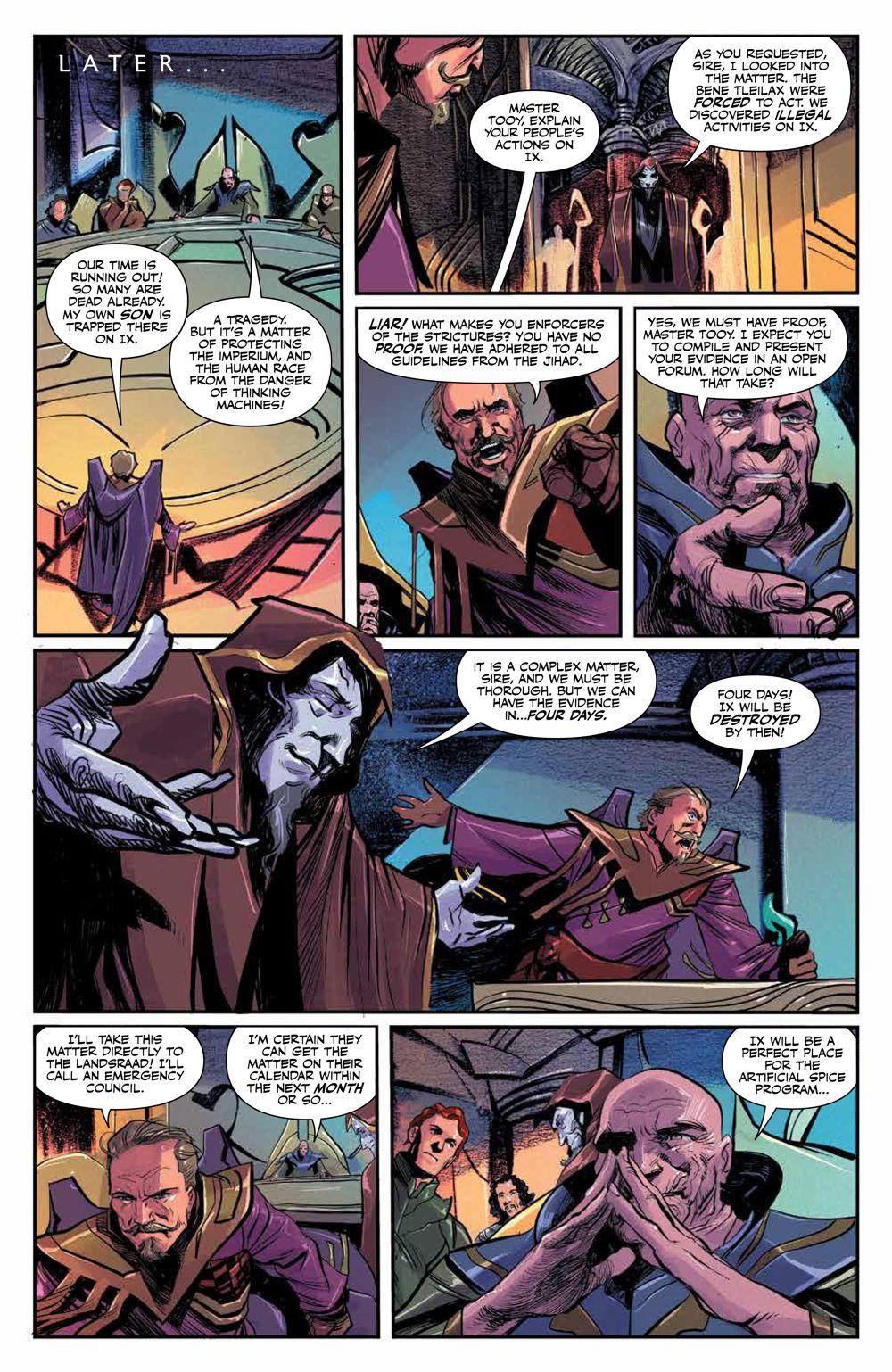 Dune_HouseAtreides_006_PRESS_7 ComicList Previews: DUNE HOUSE ATREIDES #6 (OF 12)