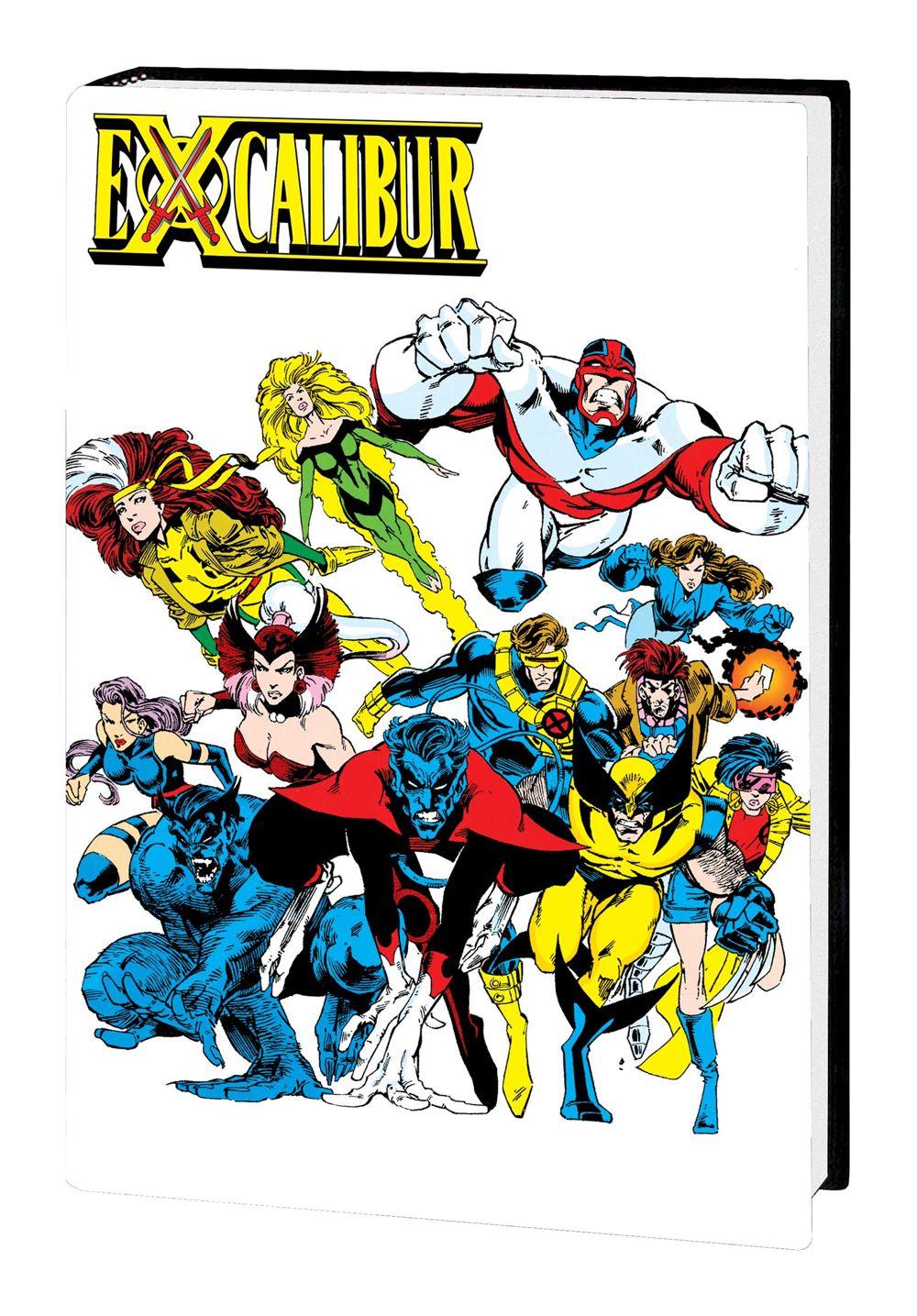 EXCALIBUR_OMNIBUS_V2_HC_DM Marvel Comics July 2021 Solicitations