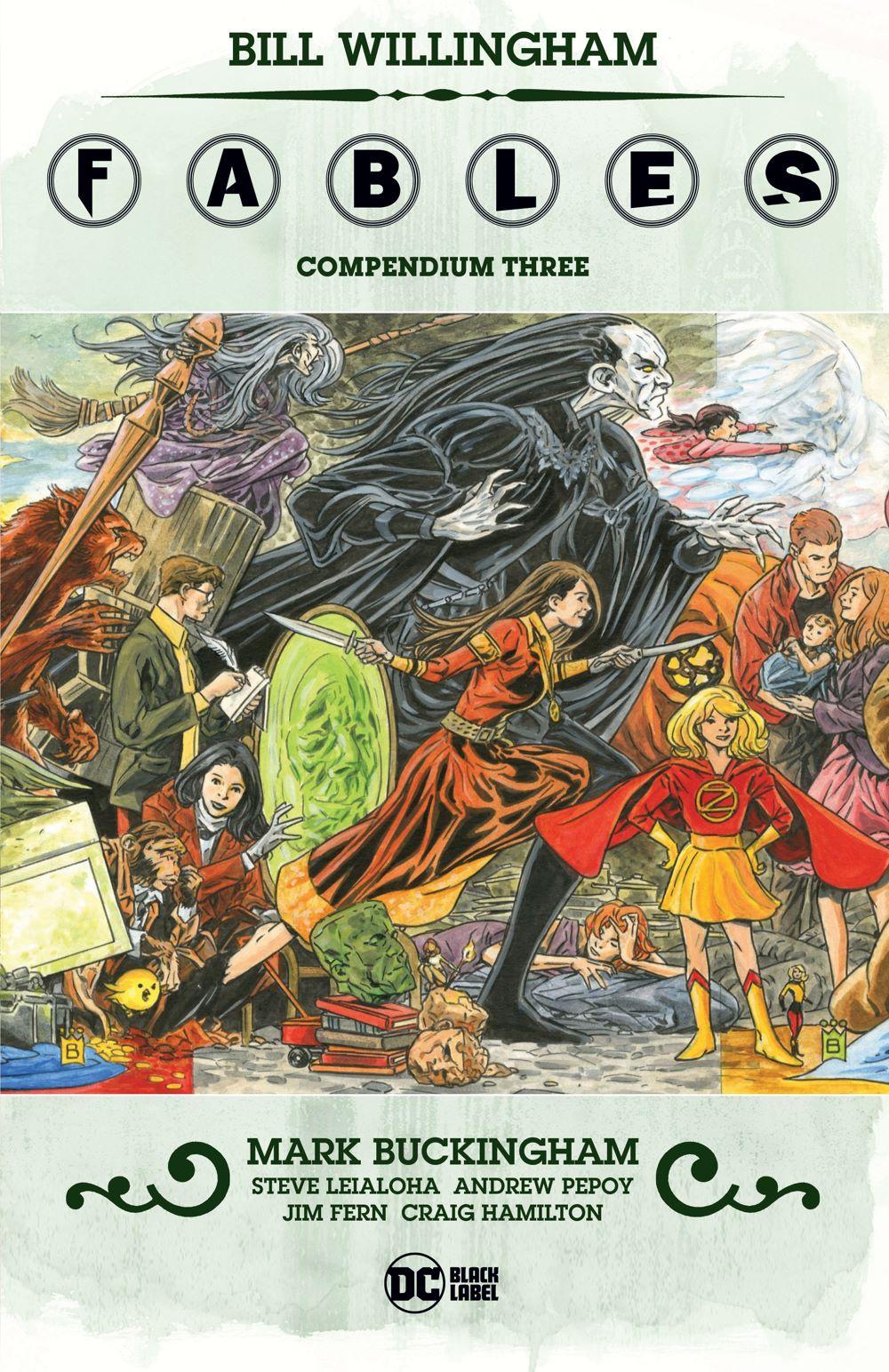 FABL_Compendium_3_CVR_MOCKUP300dpi DC Comics July 2021 Solicitations