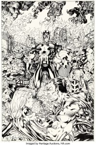 Fantastic-Four-3-1997-199x300 Jim Lee's Hand Doing Well: What Should He Draw?