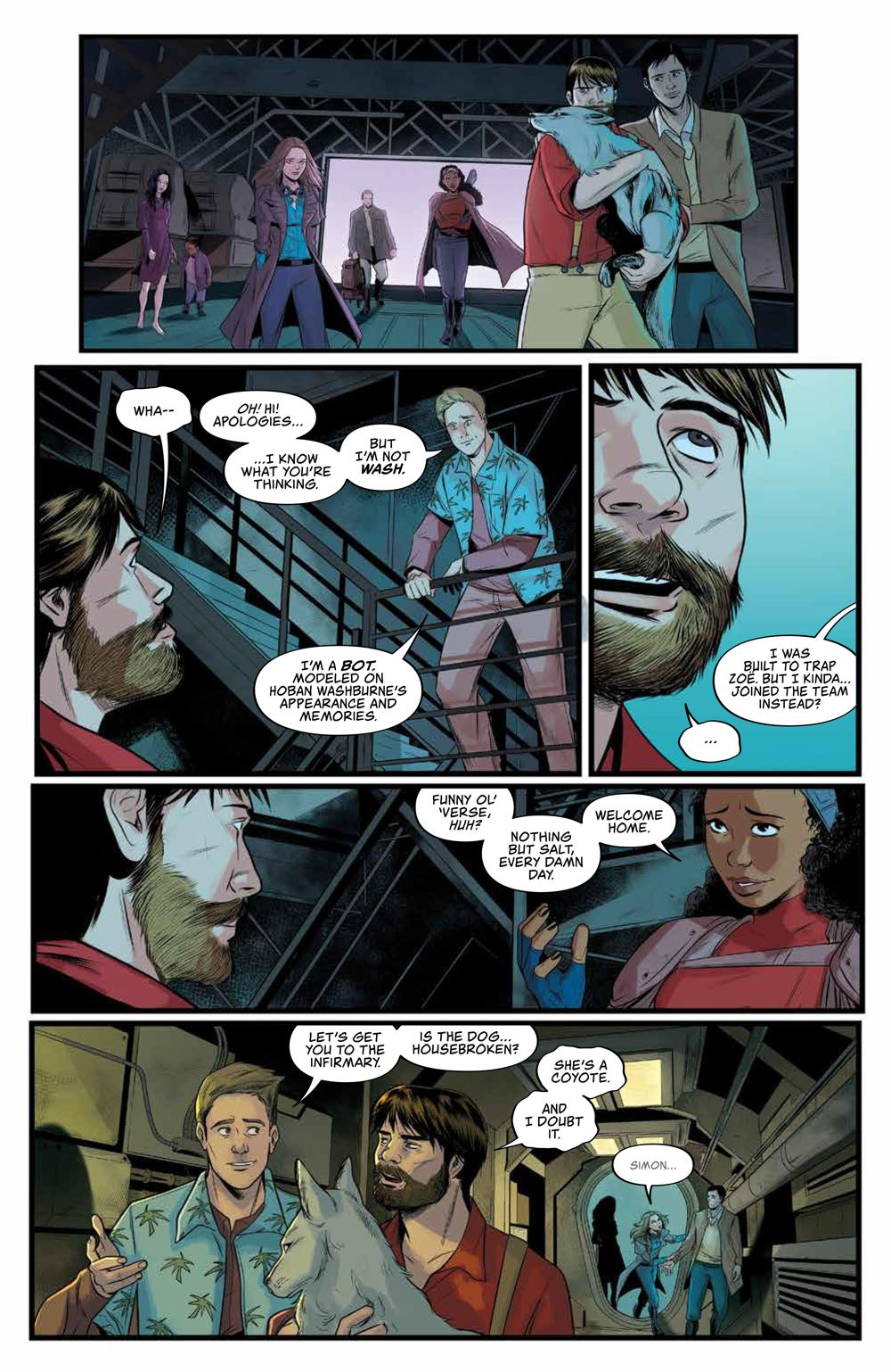 Firefly_028_PRESS_7 ComicList Previews: FIREFLY #28