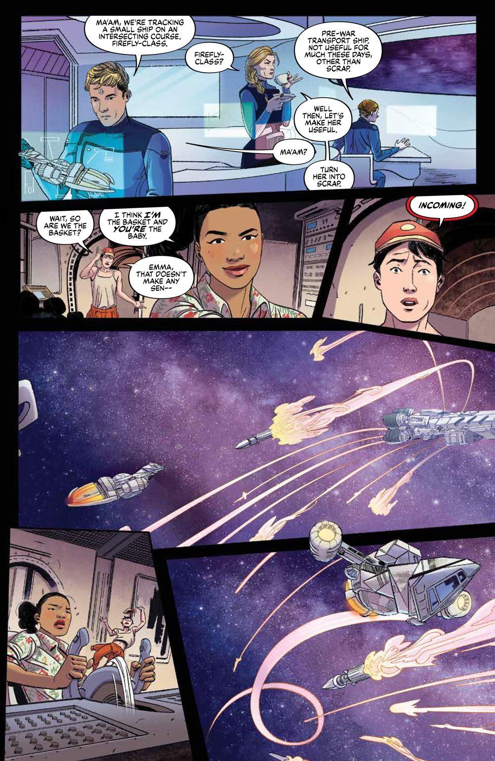 Firefly_BrandNewVerse_002_PRESS_7 ComicList Previews: FIREFLY A BRAND NEW 'VERSE #2 (OF 6)
