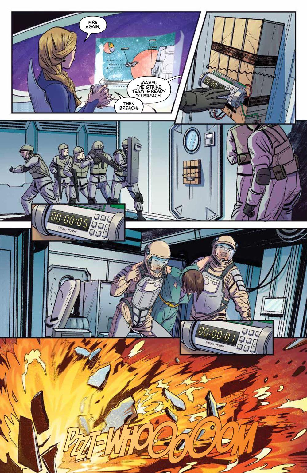 Firefly_BrandNewVerse_002_PRESS_8 ComicList Previews: FIREFLY A BRAND NEW 'VERSE #2 (OF 6)