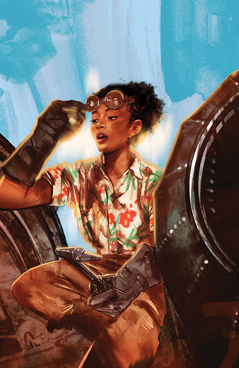 Firefly_BrandNewVerse_005_Cover_C_Incentive BOOM! Studios July 2021 Solicitations